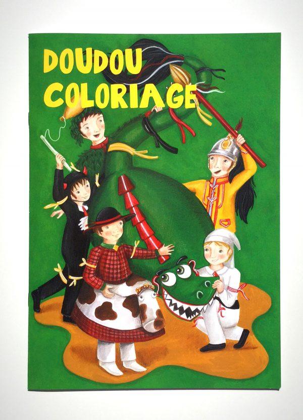 doudou-coloriage-livre-dessin-mons-combat-lumeçon